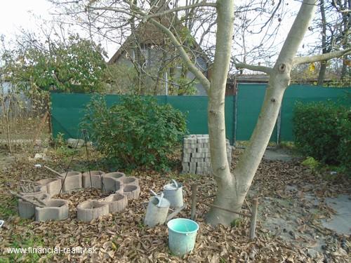 Nová Stráž -  záhrada na predaj